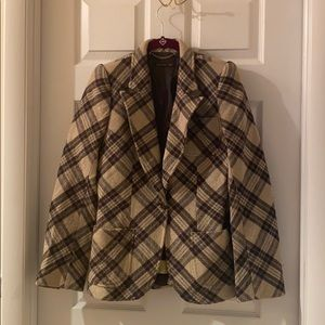 Alexander McQueen Plaid Coat